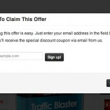 Claim Offer Popup