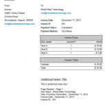 Default PDF Invoices Template