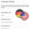 Multi Language Support