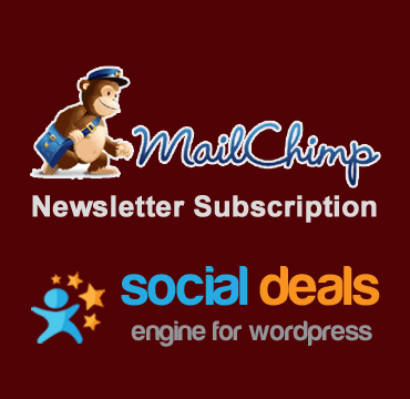 MailChimp Email Marketing Extension for the Social Deals Engine