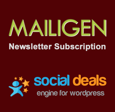 MAILIGEN Email Marketing Extension for the Social Deals Engine