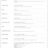 PDF Invoice Settings