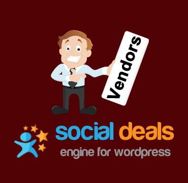 Vendors Extension for the Social Deals Engine