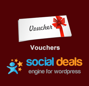 Vouchers Extension for the Social Deals Engine Plugin