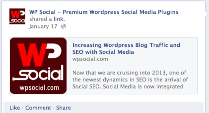 WP Social SEO Share