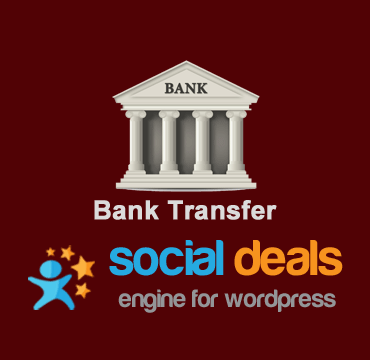Bank Transfer Payments Extension for the Social Deals Engine