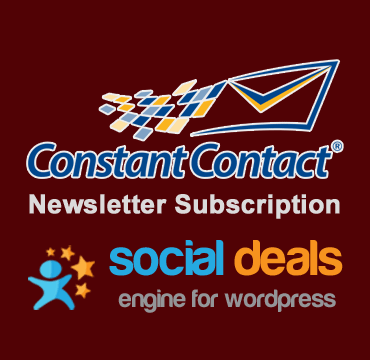 Constant Contact Email Marketing Extension for the Social Deals Engine
