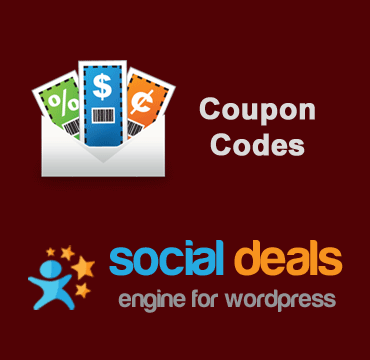 Coupon Codes Extension for the Social Deals Engine