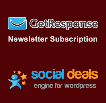 GetResponse Email Marketing for the Social Deals Engine