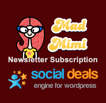 Mad Mimi Email Marketing for the Social Deals Engine