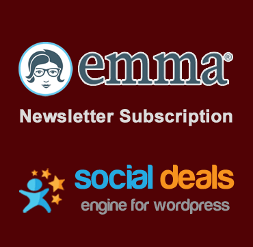 emma Email Marketing Extension for the Social Deals Engine