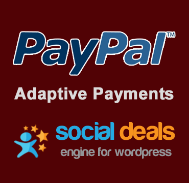 Paypal Adaptive Payment Gateway for the Social Deals Engine