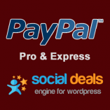 PayPal Pro & PayPal Express Payment Gateway for the Social Deals Engine