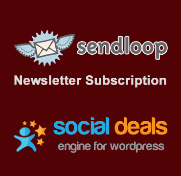 sendloop Email Marketing Extension for the Social Deals Engine