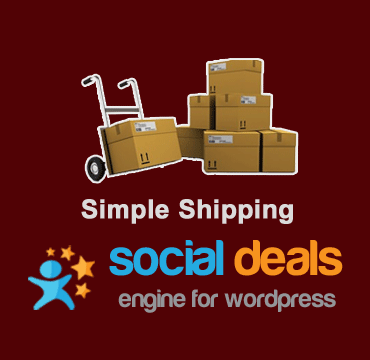 Simple Shipping Extension for the Social Deals Engine Plugin