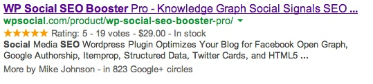 Rich Snippets and Authorship