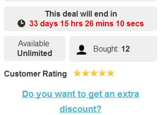 Social Sharing Discount Link