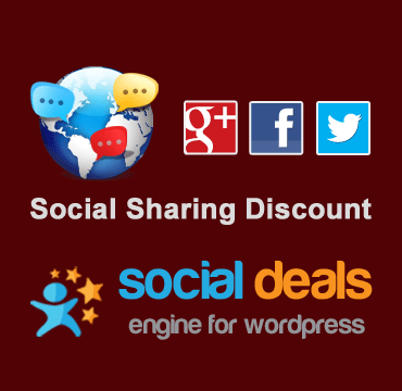 Social Sharing Discount Extension for the Social Deals Engine