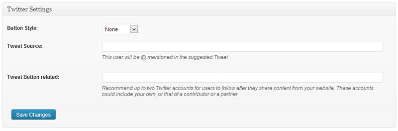 Traffic Blaster Twitter Settings